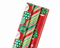 wrapping paper 3 roll pack 102 total sq ft shop