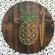 20 fun diy thread and nails string art house design and decor