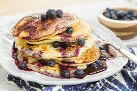 recipe blueberry pancakes home u0026 family hallmark channel