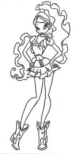winx club layla coloring pages printablefree coloring pages for