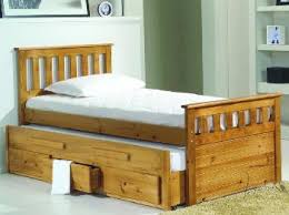 verona inclined bed in a box single pine bed frame single wooden