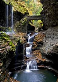 Robert H Treman State Park Map by Watkins Glen State Park Wikipedia