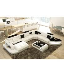 canapé panoramique en cuir sydney canapé panoramique design cuir