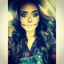 Pretty Halloween Costumes Adults Halloween Costume U0026 Makeup Woman Scarecrow Easy Costume