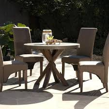 concrete patio dining table outdoor round dining table astle round indoor outdoor concrete