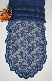 lace table runners wholesale 13 5 x108 lace table runner navy blue 90623 1pc pk heidi s