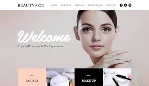professional makeup artists websites hair beauty website templates fashion beauty wix