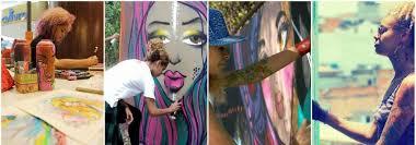 si e de mural aritsta crica monteiro e seus graffiti arte sem fronteiras