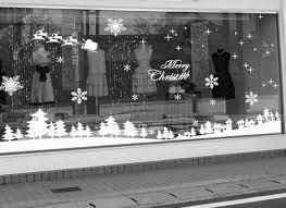 Christmas Decoration For Retail by Christmas Decoration Vinyl Window Wall Stickers Wall Decal