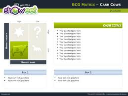 Free Bcg Matrix For Powerpoint Bcg Ppt Template
