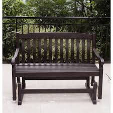 Wicker Glider Patio Furniture - outsunny image on amazing glider bench home depot furniture plans