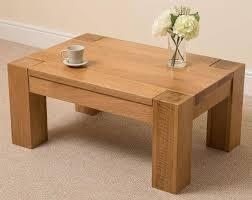 Oak Furniture Top 30 Of Chunky Oak Coffee Tables