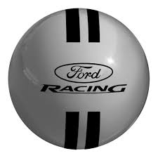 logo ford fiesta shift knob gray with black ford logo st 2013 2017 mustang 2005 2017
