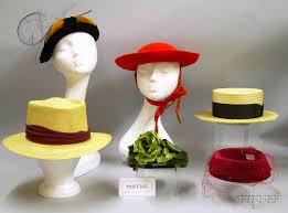 seton hat s dobbs panama and a seton boater and six s and