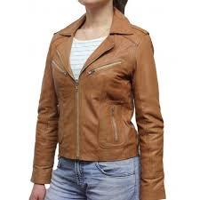 light brown leather jacket womens women tan leather biker jacket kristy