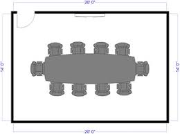 U Shaped Conference Table Dimensions Conference Table Dimensions Size Guide And Seating Chart
