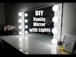 Beauty Vanity With Lights Diy Vanity Mirror With Lights Under 100 Simplysandra