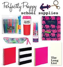 high school stuff perfectly preppy school supplies school