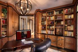 custom office cabinets and bookcases by kountry kraft