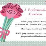bridal luncheon invitations bridal shower brunch invitation wording wedding bridal shower