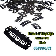 clip in hair extensions for hair aliexpress buy 28mm black snap clip for hair extension