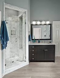 Waterproof Bathroom Light Shower Niche Ideas Bathroom Contemporary With Tile Borders Glass