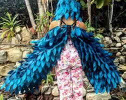 Blue Butterfly Halloween Costume Butterfly Wings Butterfly Bird Play Wings Fairy Wings