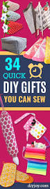 34 quick diy gifts you can sew for friends and family tutorials