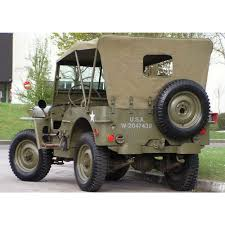 wwii jeep willys capottine jeep willys serie cuscini per jeep willys mb 1941 1946