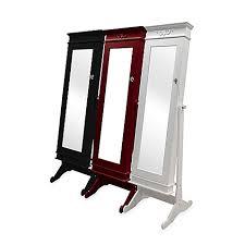 jewlery armoire mirror baxton studio bimini standing mirror jewelry armoire bed bath