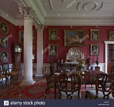 The Little Dining Room At Stourhead Wiltshire Stourhead House - Regency dining room