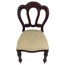 Antique Reproduction Dining Chairs Mahogany Wood Admiralty Upholstered Dining Chair Antique