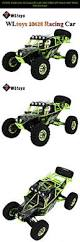 monster truck race track toys wltoys 10428 2 4g 1 10 scale rc car high speed off road wild track