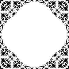 clipart decorative ornamental frame border reinvigorated 4