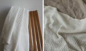 Light Cotton Fabric 10 Easy Pieces Lightweight Cotton Blankets Remodelista