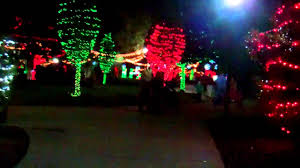christmas light park near me christmas lights at largo central park in largo florida youtube