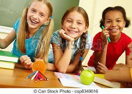 classmates search happy classmates portrait of joyful schoolgirls laughing in