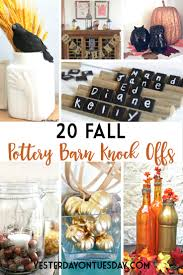 thanksgiving pottery barn 20 fall pottery barn knock offs yesterday on tuesday