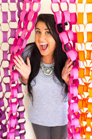 Wedding Photo Booth Backdrop Diy Paper Chain Photo Booth Backdrop Tutorial Backdrop