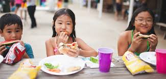 Kids Eating Table Church Bell Calls Kids To Summer Food And Fun Lewis Center For