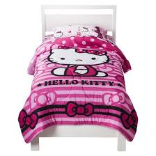 Hello Kitty Duvet Hello Kitty Reversible Comforter Twin Target