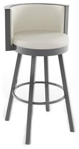 modern counter height chairs candy off white leather counter