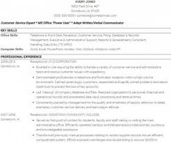 Receptionist Resume Sample Skills by Receptionist Resume And Skills Guide