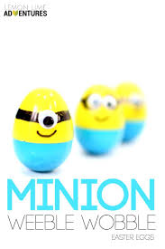 Easter Egs by Super Simple Minion Weeble Wobble Easter Eggs