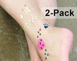 cat paw tattoo etsy