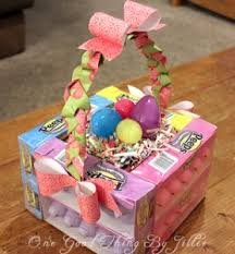 ideas for easter baskets a up of 8 creative easter basket ideas the vintage