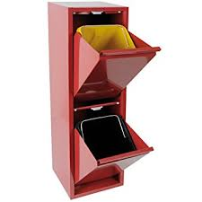 mülltrennsystem küche tlw direkt 2756 mülltrennsystem 2 x 12 l rot de küche