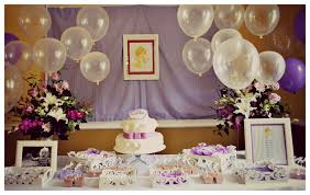 baptism decoration ideas baptism reception decorations