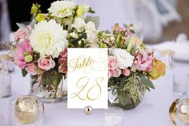gold wedding table numbers elegant table numbers printable wedding table numbers white and