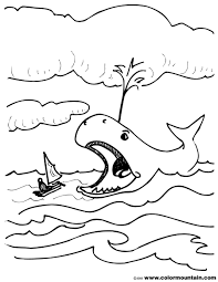 jonah and the whale coloring sheet create a printout or activity